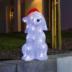LED Acrylic Dog