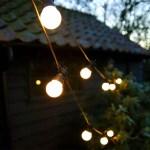 20 LED Opal Warm White Festoon Party Lights
