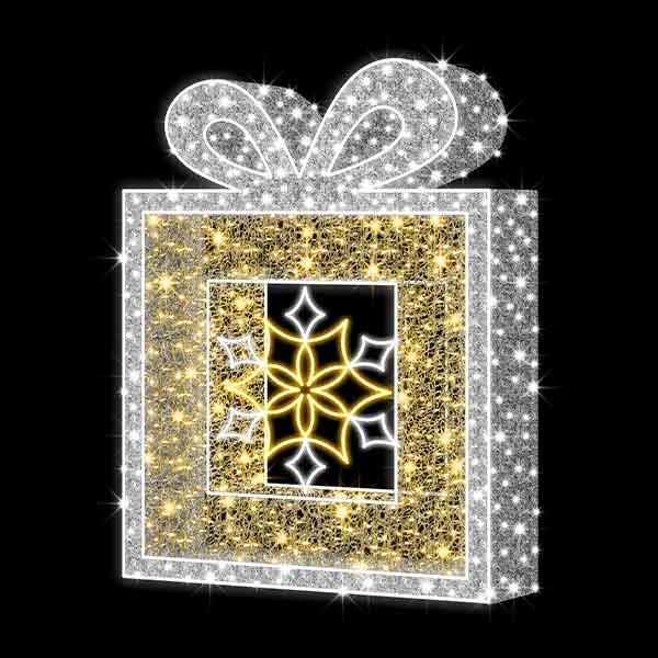 3D Christmas Parcel