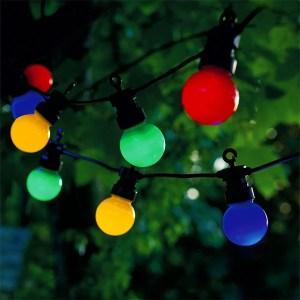 Multi Coloured Festoon Party Lights