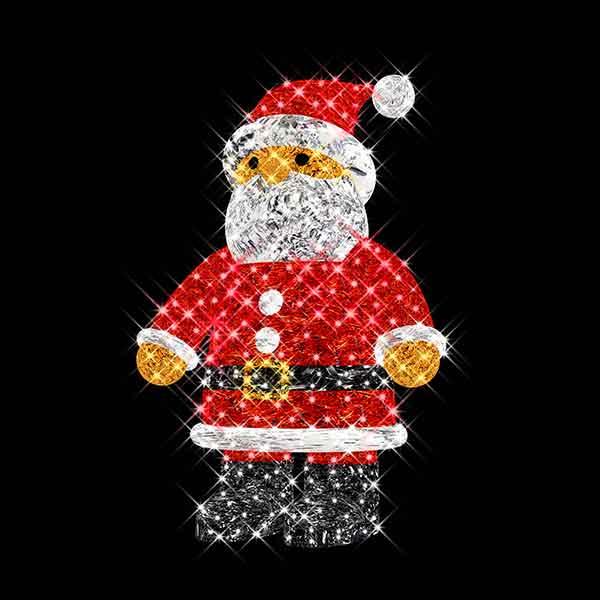 3D Christmas Santa Claus