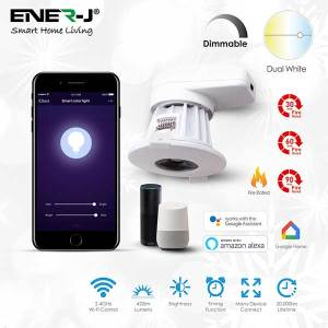 Smart WiFi Fire Rated Downlight, 8W, CCT Changeable & Dimming