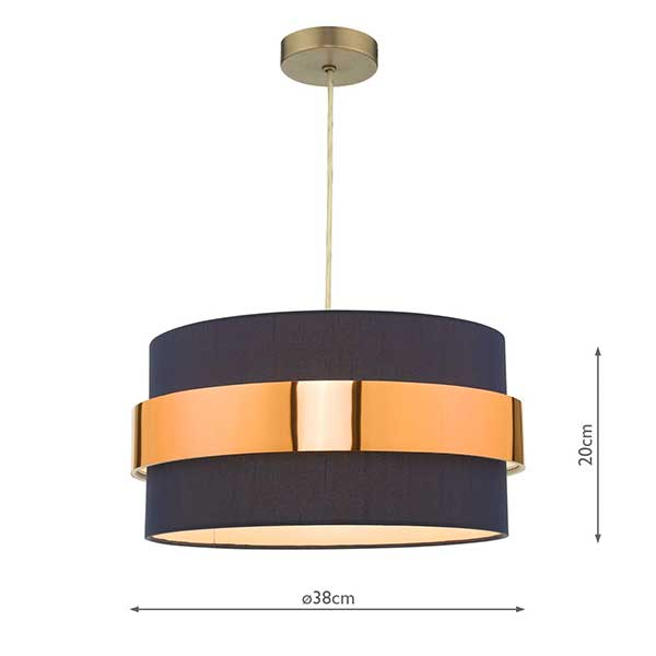 Easyfit Navy Blue Shade With Copper Band