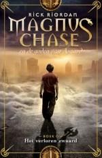 Magnus Chase en de goden van Asgard 1: Het verdoemde zwaard Boek omslag