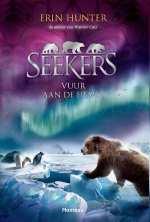 Seekers 5: Vuur aan de hemel Boek omslag