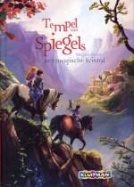 Tempel van de spiegels 1: Het magische kristal Boek omslag