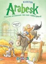 Arabesk 2: Nieuwe avonturen van een ridderpaard Boek omslag