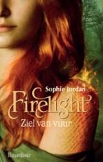 Firelight 1: Ziel van Vuur Boek omslag