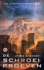 De Labyrintrenner 2: De Schroeiproeven Boek omslag