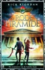 De avonturen van de familie Kane 1: De Rode Piramide Boek omslag
