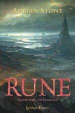 Rune 2: De Eerste God Boek omslag