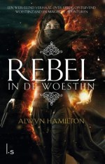 Rebel in de woestijn Boek omslag