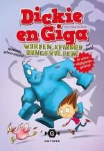 Dickie en Giga worden keihard aangevallen Boek omslag