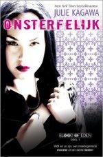 Blood of Eden 1: Onsterfelijk Boek omslag
