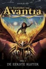 De Kronieken van Avantia 1: De eerste ruiter Boek omslag