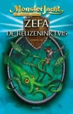 Het gouden harnas 1: Zefa de reuzeninktvis Boek omslag