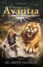 De Kronieken van Avantia 3: De grote veldslag Boek omslag