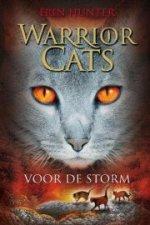 Warrior Cats 4: Voor de storm Boek omslag
