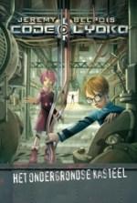 Code Lyoko 1: Het Ondergrondse Kasteel Boek omslag