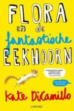 Flora en de fantastische Eekhoorn Boek omslag