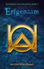 Kinderen van Atlantis 3: Erfgenaam Boek omslag