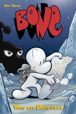 Bone 1: Weg uit Boneville Boek omslag