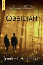 Lux 1: Obsidian Boek omslag