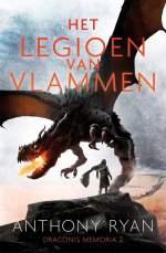 Draconis Memoria 2: Het Legioen van Vlammen Boek omslag