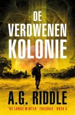 De Verdwenen Kolonie Boek omslag