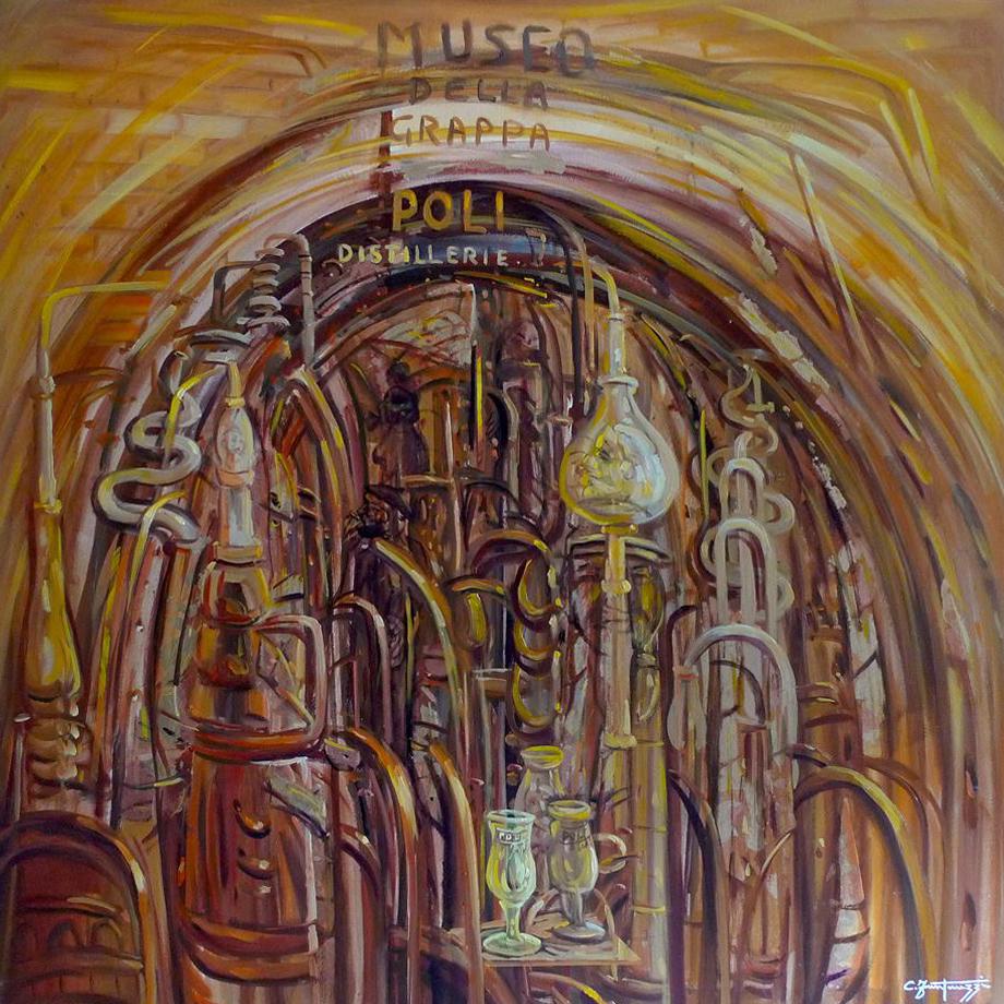Omaggio alle distillerie Poli by carlo fantauzzi
