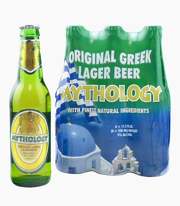 Mythology Greek Lager Beer, 6-Pack