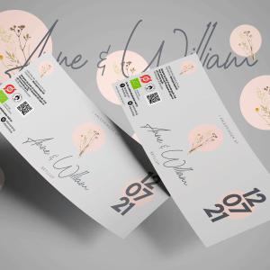 Økologisk bryllupsøl med unik etikette og personlig hilsen - perfekt til den store dag