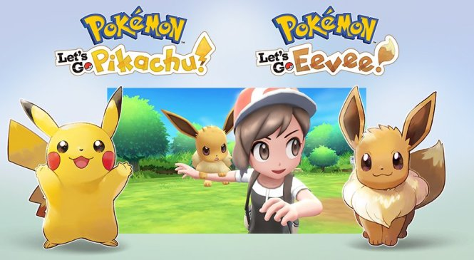 ¡Pokémon llega a Nintendo Switch y en partida doble!