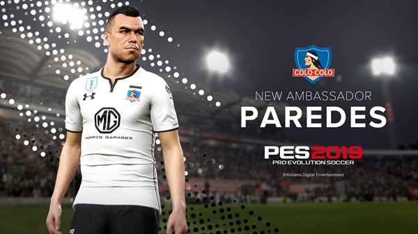 Novedades PES 2019 y Esteban Paredes como embajador
