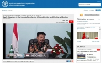 Fao Urges For A More Resilience Food System Indonesia Highlights Four Priorities To Face The Pandemic Fao In Indonesia Food And Agriculture Organization Of The United Nations