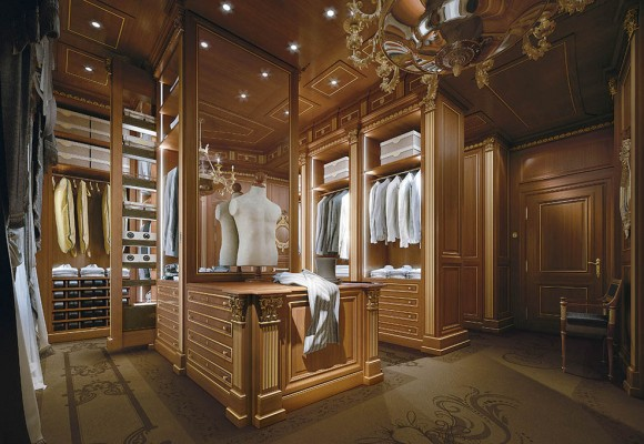 Automated And Custom Walk In Closets Faoma Luxury Furnishings