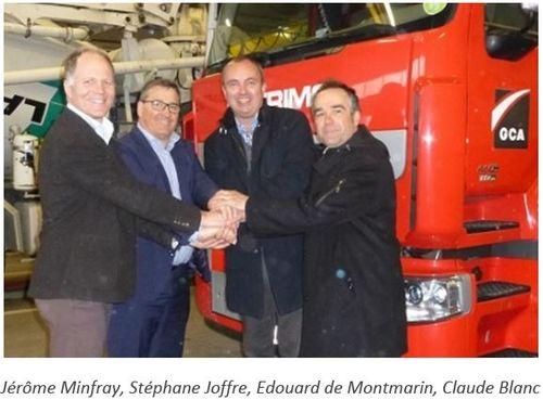 Projet LNG Motion Vers Un Transport Dcarbon Avec GCA
