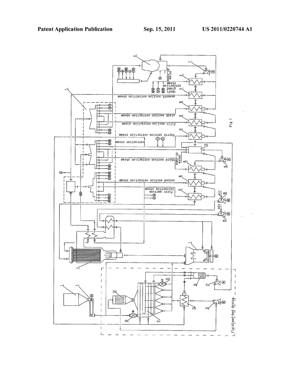 Coal Fired Power Stations Diagram
