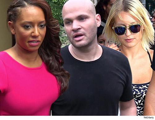 Mel B: ex tuvo relaciones con la nanny, matrimonio falso