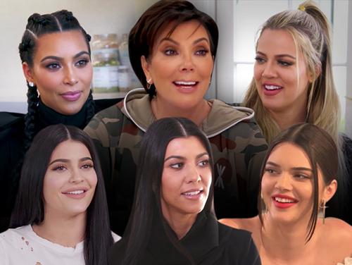Las Kardashians firman con E! 5 temporadas más!