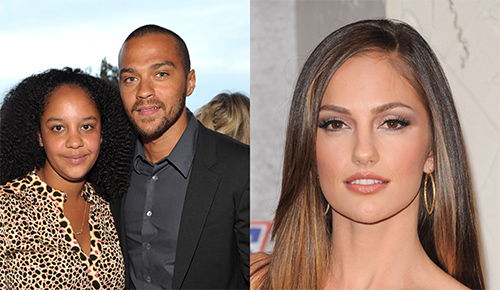 Minka Kelly niega haber roto el matrimonio de Jesse Williams