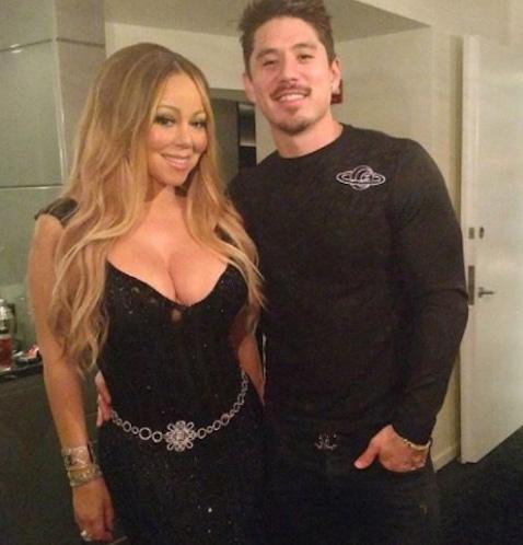 Tanaka dirige la carrera de Mariah Carey? OMG!