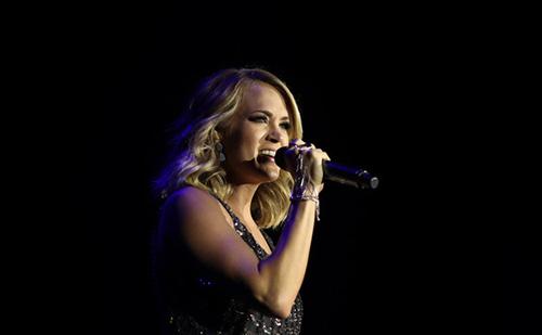 Así se ve Carrie Underwood tras su accidente y 40 puntos en su cara