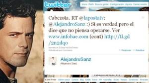 Jaime Bayly, Alejandro Sanz
