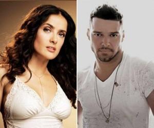 Salma Hayek ,Ricky Martin
