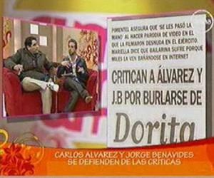 Carlos Álvarez, Jorge Benavides, Dorita Orbegoso