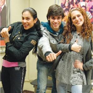 Jesús Neyra, Maricarmen Marín, Gisela Ponce de León