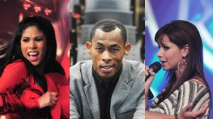 Maricielo Effio, Percy Olivares, Karen Dejo