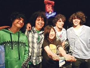Andrés Dulude, Gerardo Manuel, Rafo Ráez, José Carlos Ponce, Adalí Montero