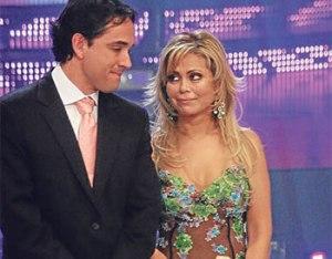 Roberto Martínez , Gisela Valcárcel